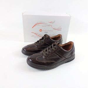 Clarks Unstructured Unrhombus Fly Brown Shoe 8M